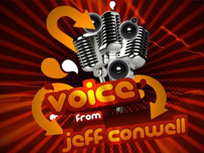 Voice by Jeff Conwell
