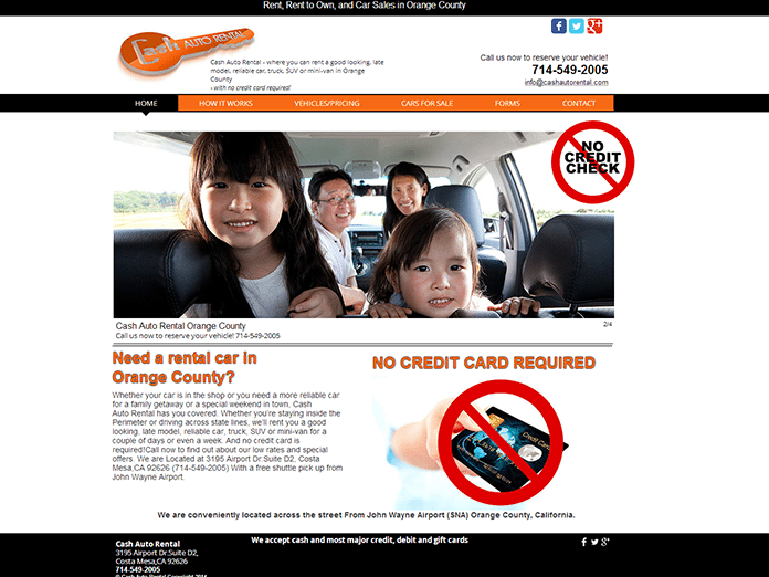 Cash Auto Rental