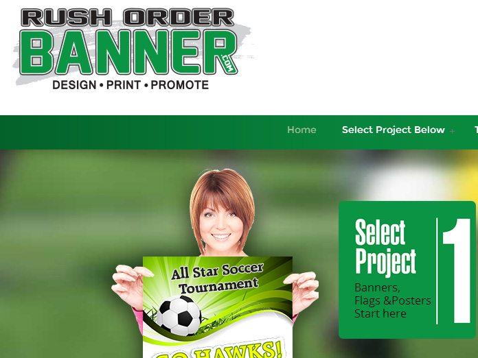 Rush Order Banner
