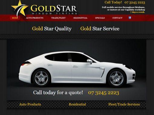 Gold Star Window Tinting